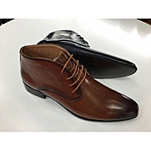 Quality Leather Urban Men's Official And Casual Boots