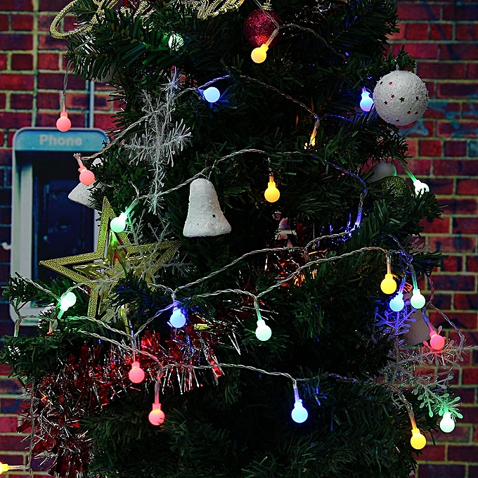 String Lights Ball Fairy Light Party Christmas Wedding Indoor&outdoor Decoration RGB