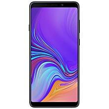 Galaxy A9 (2018) 6.3-Inch (6GB, 128GB ROM), Quad Camera, Dual SIM - Caviar Black.