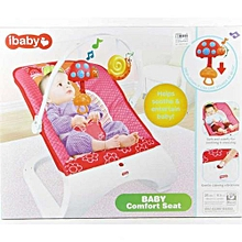 Baby Comfort Bouncer Rocker With soothing music and toys-multicolor