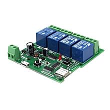 Geekcreit® USB 5V Or DC 7V-32V DIY 4 Channel Wireless Smart Home Module