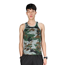 TB Fashion Military Style Men Vest Camouflage Tank Top Tight Sport Skinny Camouflage