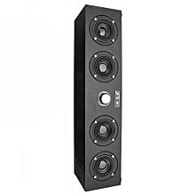 AT FIRST SIGHT Q7 Wood 4x3.5W 4 Horns 3D Stereo Bass Bluetooth 4.0 Speaker Support AUX USB FM Radio