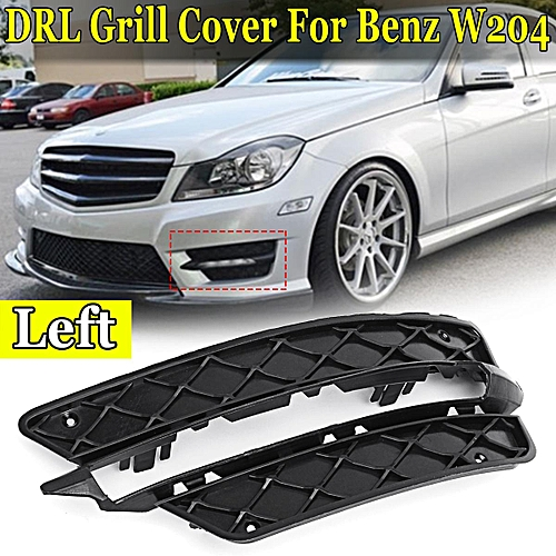 6fcaac49bf1d0d Generic L Lower Bumper DRL Grille Grill For Mercedes-Benz W204 A2048851453  A2048851353