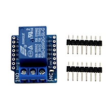 Relay Shield for Arduino WeMos D1 Mini ESP8266 Development Board blue