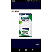 Oral-C  Dental Floss  Mint  Waxed - 50m