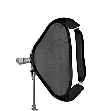 Godox 60 x 60cm Softbox with S-Type Flash Speedlite Bracket Bowens Mount Holder for Studio Photograp