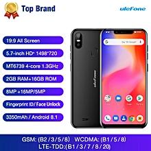 S10 Pro 5.7-inch (2GB, 16GB ROM) Android 8.1, 16MP&5MP, 3350mAh, Dual Sim 4G LTE Smartphone - Black