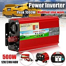 1000W Solar Inverter 24 to 220V Voltage Converter Modified Sine Wave