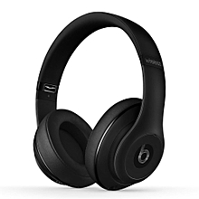 Studio Wireless 2.0 Bluetooth Headset On-ear Music Headphones ANC Noise Reduction Earphones w/Microphone Second-hand No Package No Accessories Matte Black