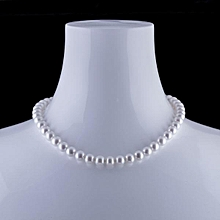 The glow  Pearl Necklace with big beads