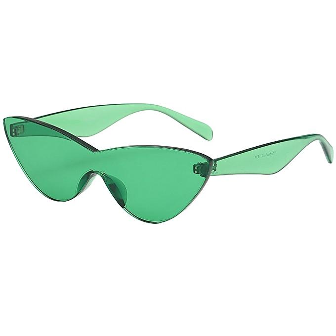 cdcc8210d ROE Shop Women Man Fashion Vintage Solid Color Sunglasses Eyewear Retro  Unisex