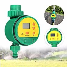 LCD Garden Automatic Irrigation Timer Controller Hose Sprinkler Water Programs