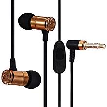 JBM MJ007 Super Bass Stereo Headsets 3.5mm Plug Bullet Earphones With Mic