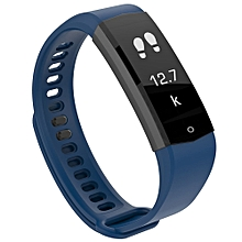 HX06 Smart Wristband Bezel-less Screen Fitness Tracker - BLUE JAY