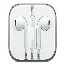 Earphones For Apple iPhone 6 / 6S / 6 Plus - White