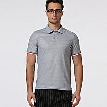 New Hot Men's Slim Sports Short Sleeve Casual Polo Shirt T-shirts Tee Tops