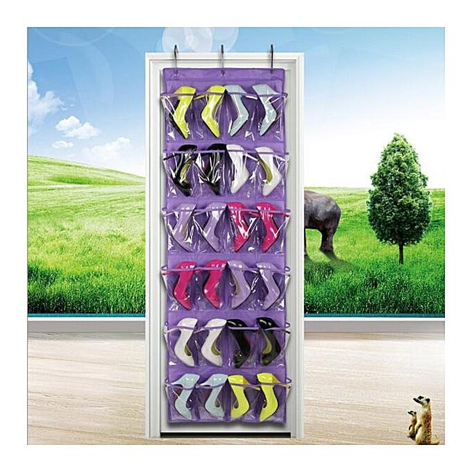 buy neworldline clear collection 24 pocket over the door shoe organizer storage hanging bag. Black Bedroom Furniture Sets. Home Design Ideas
