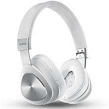 Wireless Bluetooth Headset NFC Bluetooth 4.1 Version Headphone Ecouteur (Color:White)