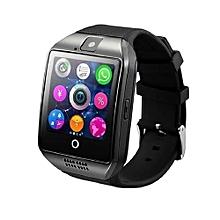 Q18 Fashion Smart Watch - Black and Silver