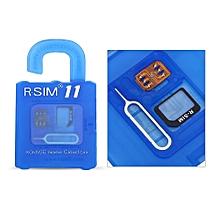 R-SIM11 General Nano Cloud Unlocking Card for iPhone 7 7P 6S 6 iOS10.X9.X 8.X 7.X
