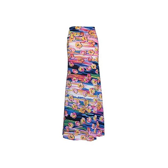 ... Long Flower Skirt Faldas Largas Sexy Knit Pencil Skirts Womens Jupe Longue Bohemian Saia Longa Long ...