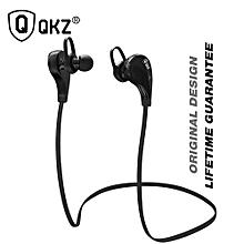 Bluetooth Earphone QKZ G6 Wireless Stereo Earphones Fashion Sport Running canalphones Studio Music Headsets fone de ouvido PRI-P