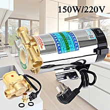150W 220V Household Automatic Gas Water Heater Water Pressure Booster Pump New