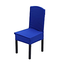 【clearance Sale+ready Stock】Elastic Chair Covers Home Seat Slipcover Decoration #Blue