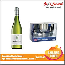 Chenin Blanc + 4Pc Wine Shower Set (Shower & Stand)