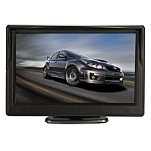 5 Inch TFT-LCD HD Car Rear View Rearview Monitor W/ Stand Reverse Backup Camera