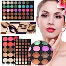Professional 80Colors Eyeshadow + 15Colors Blusher & Concealer Eye Makeup Palette Set