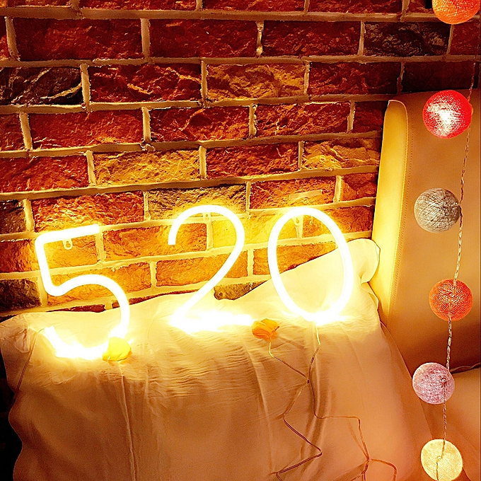 LED Figure Lamp Battery Operated Powered 3 Shape Warm White for Home Party  Decoration Cafe Shop Restaurant Wedding Function