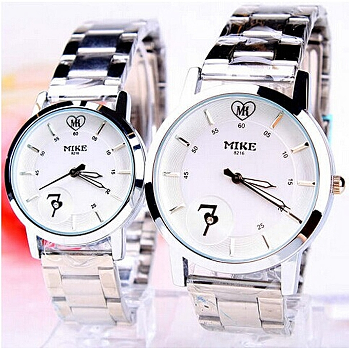 buy fashion the vogue quartz waterproof lovers watch a rightness of