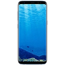 Galaxy S8 Plus (S8+) Dual Sim 64GB ROM/4GB RAM 6.2-Inch 12MP+8MP Android 7.0 Nougat (Coral Blue)