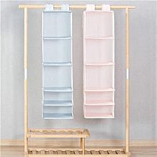 Xiaomi Mi Home 5 Layers Hanging Closet Organizer Household Hanging Foldable Storage Bag