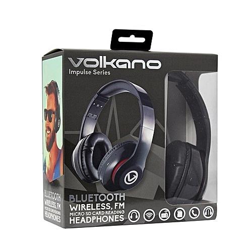 Impulse Series Bluetooth Headphones - Black