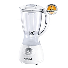 ABL-322SB - 1.5L - 4 speed with Pulse - Blender - Plastic Jar - 350W - White & Silver