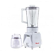RM/498- Blender + Mill 1.25 Litres, 1 Speed- White