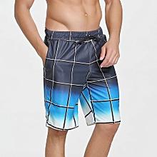 3a4a12285f Men's Summer Quick Dry Bermuda Beach Shorts Fashion Casual Water  Sports Swim
