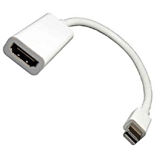 Generic ThunderBolt Mini Display Port to HDMI Adapter Cable For Macbook
