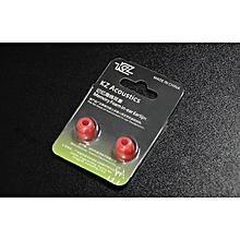 KZ 1 Pair Earphone Sillicone Ear plugs Memory Foam Earphone Ear tips In ear Earphone Protective Cover for KZ ZS4 ZS5 ZS6 ZS10 AS10   XXZ-Z