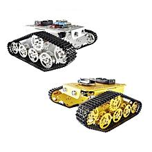 Geekcreit® DIY T300 NodeMCU Aluminum Alloy Metal Tank      Track Caterpillar Chassis Smart Robot Kit