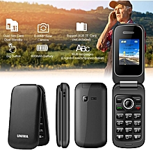 1.77 Inch Senior Citizen Mobile Phone Big Button FM Dual SIM Elder Cellphone