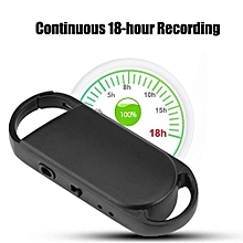 Mini Audio Recorder Digital Voice Recorder 8G Memory 18 Hours Working Time 192kbps WAV To WMA/MP3/WAV