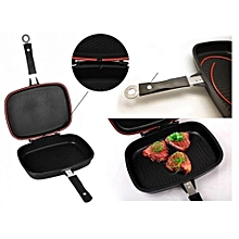 Double Sided Frying Pan Non Stick Griddle