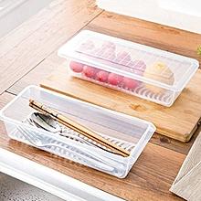 KCASA KC-SR07 Refrigerator Fridge Freezer Fresh Food Storage Box Organizer Sealed Fish Crisper Case