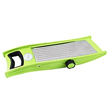 Stainless Steel Auto Rotate Slicer - Green .