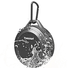 Element T4 5W Portable Bluetooth Speaker [IP67 Waterproof] with Enhanced Bass and Built-in Microphone-Gray