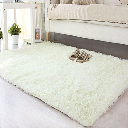 Awe Inspiring Cream White Luxurious Comfortable Fluffy Living Room And Bedroom Carpet Size 7X8 Download Free Architecture Designs Scobabritishbridgeorg